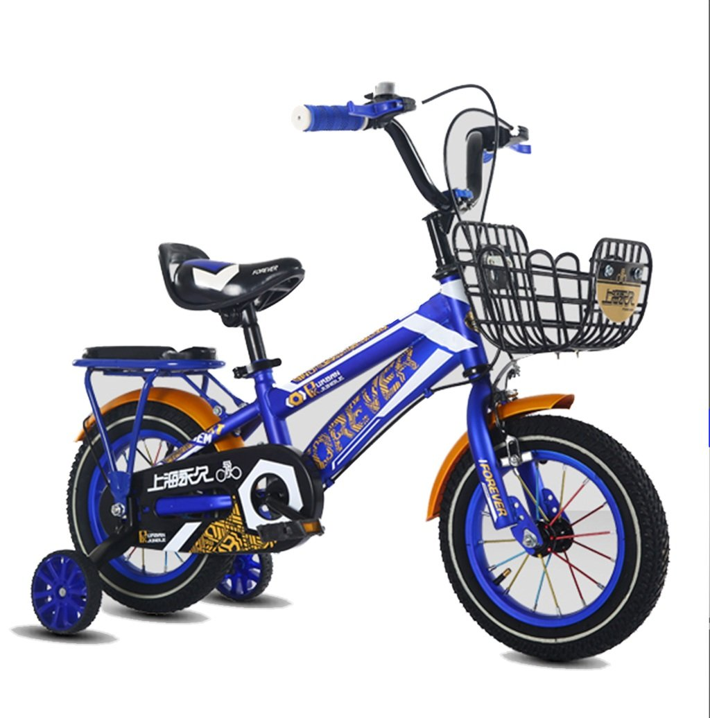 CSQ ファッション自転車、男の子ガールペダル自転車の子供時代の個々の自転車2~9歳の赤ちゃん補助車輪の自転車と88\u200b\u200b-121CM 子供用自転車 (色 : 青, サイズ さいず : 100CM) B07DXFPCYK 100CM 青 青 100CM