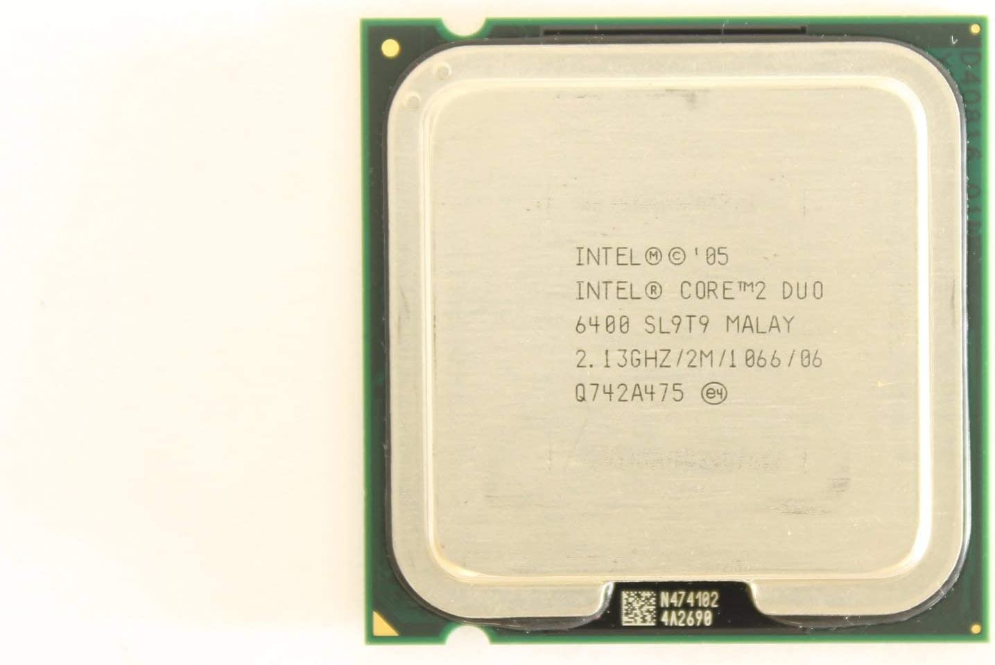 Intel 2.13 GHz Core 2 Duo CPU Processor GM152 E6400 SL9T9 Dell Dimension 9200 E520 Optiplex 745 Prec (Renewed)