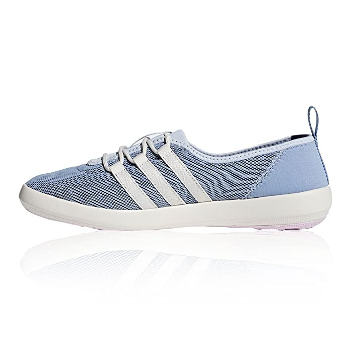 adidas Damen Terrex Climacool Boat Sleek Traillaufschuhe, Blau (Chablu/Cwhite/Aerpnk Chablu/Cwhite/Aerpnk), 37 1/3 EU