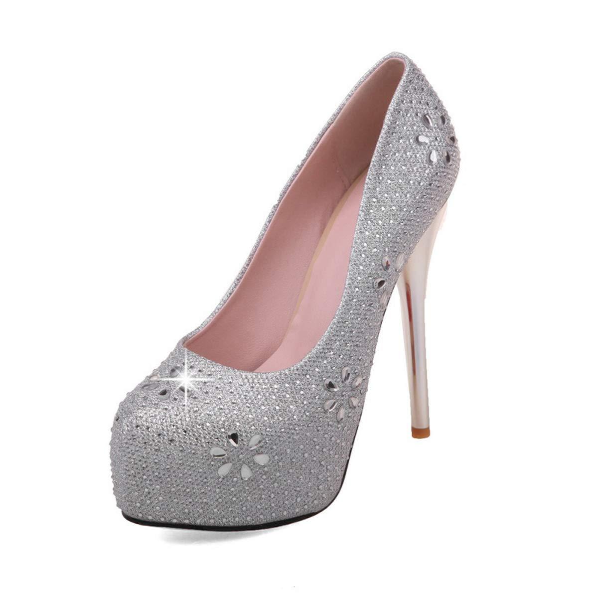 DANDANJIE Frauen Strass Hochzeit Schuhe Slip On High Heel Schuhe Frühling Stiletto Heel Party Court Schuhe  | Deutschland Online Shop  | Vielfalt  | Lass unsere Waren in die Welt gehen