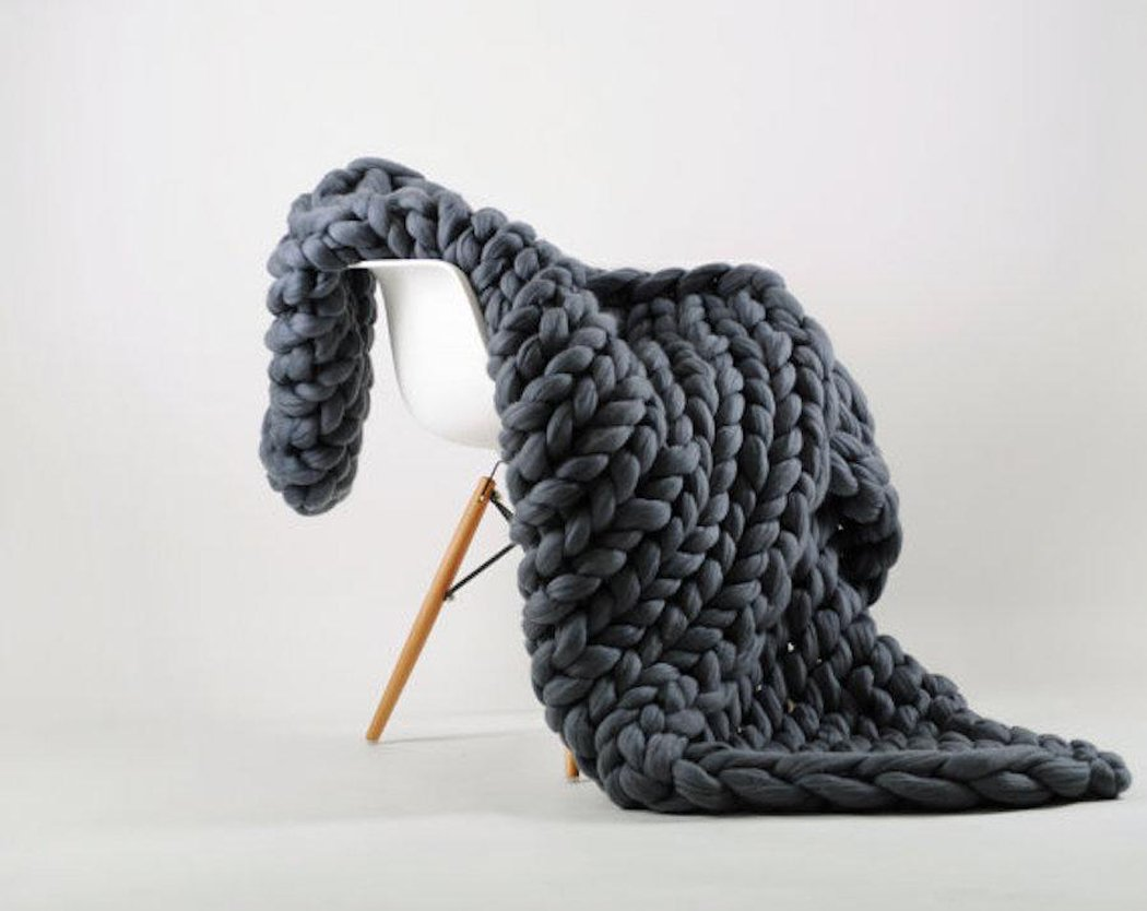 Bonways 120150CM Handgefertigt Riese Klobig Merino Wolle Sticken Werfen Sofa Decke Handgewebt Sperrig Decke Zuhause Dekor Geschenk