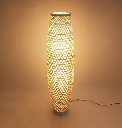 DEE Dormitorio Creativo Lámpara Vertical Brote de bambú ...