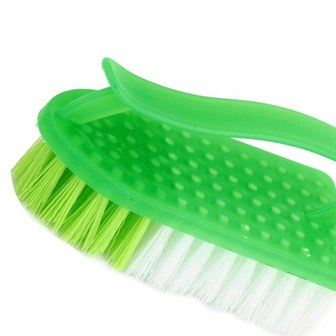 TOOGOO Brosse dure en plastique pour laver des Vetements et Chaussures Outil de nettoyage