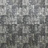 10m Slavyanski Vinyl Wallpaper Rolls Gray Blue Silver Metallic Modern Rust Rustic Faux Tiles Stone Malachite Wall Paper coverings Textured Pattern Double roll wallcovering Textures Embossed Washable