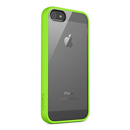 factory price 6ed2c 0646b Belkin View Case for iPhone 5 / 5S and iPhone SE (Green)