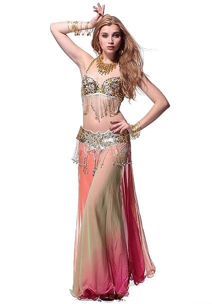Amazon.com: Disfraz de danza de metal, disfraz de bailarina ...