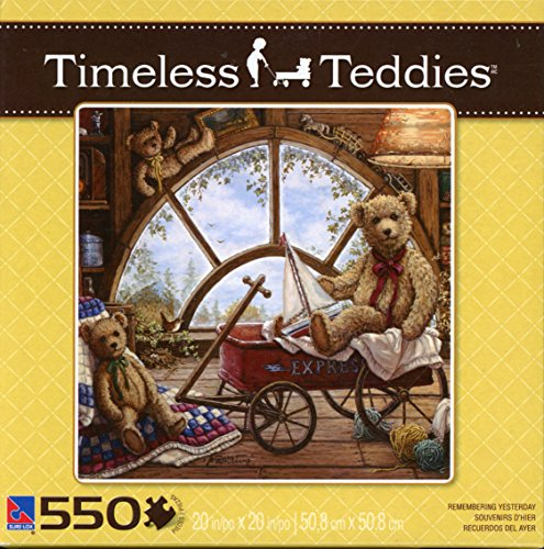 Sure-Lox 550 Piece Puzzle - Timeless Teddies - Remembering Yesterday