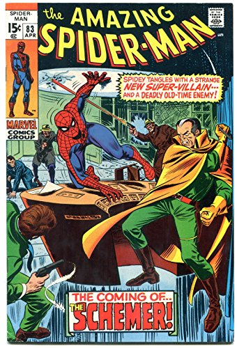 Amazing Spider-man #83 1970-1st Schemer & Vanessa- Marvel- FN/VF