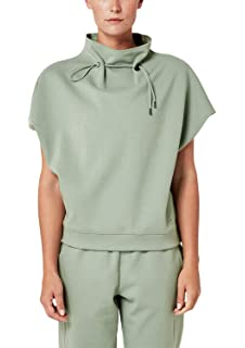 s.Oliver ACTIVE Damen Oversize-Sweatshirt mit halbem /Ärmel