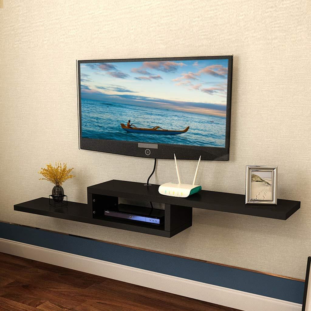 Amazon.com: JINLINE Wall Shelf Wall-Mounted TV Rack Set-top ...