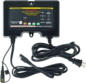 Amazon.com: batteryminder Modelo 128 cec1-aa-s5 12 V, 8 AMP ...