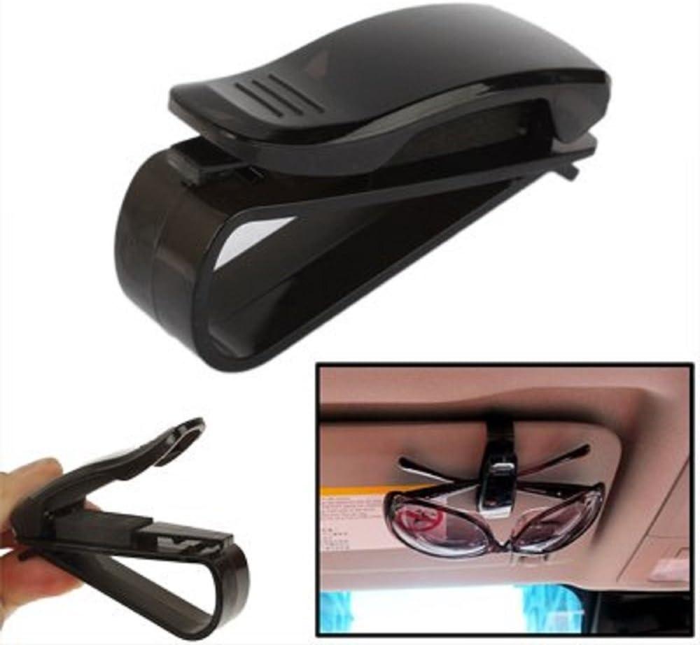 Kfz Brillenhalterung Schwarz Für Auto Pkw Lkw Elektronik