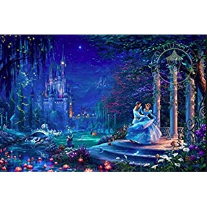 Ceaco Puzzle Disney Cenerentola Dancing In The Starlight 750pcs 2903 22