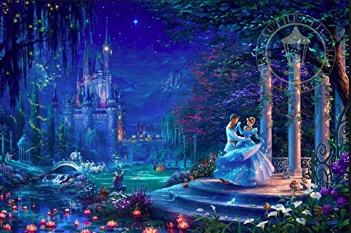 Thomas Kinkade - Disney Cinderella Starlight Puzzle - 750 Pieces