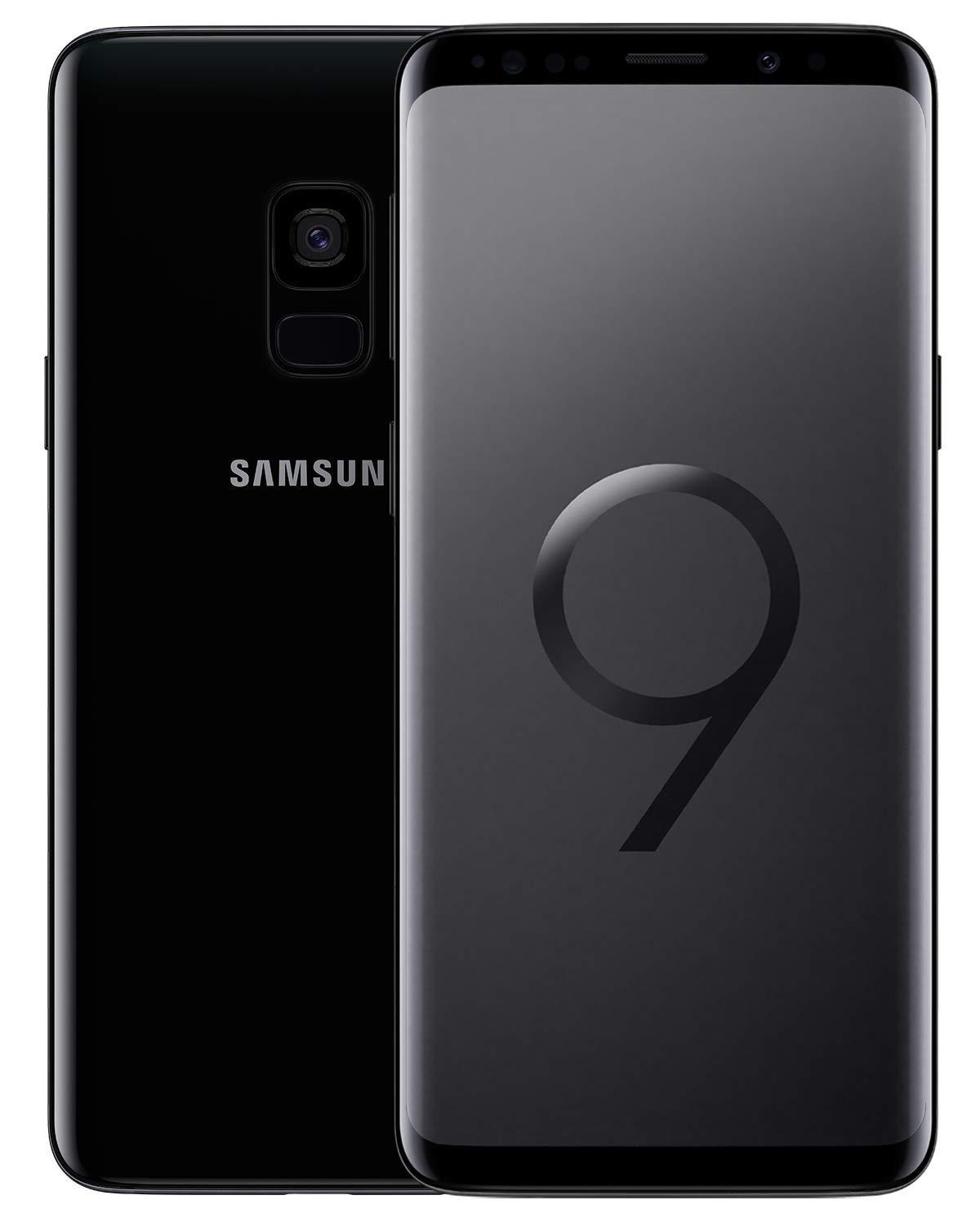 new arrival 094a3 bbab4 Samsung Galaxy S9 (4GB RAM, 64GB Storage, Midnight Black)