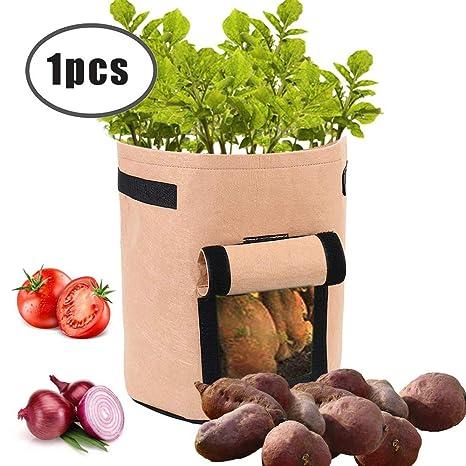 Winbang Bolsas de plantas, bolsas de cultivo de plantas 7 ...