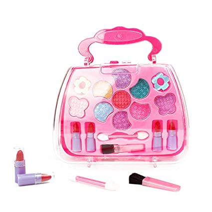 Warooma - Juego de Maquillaje para niños y niñas, Juego de ...
