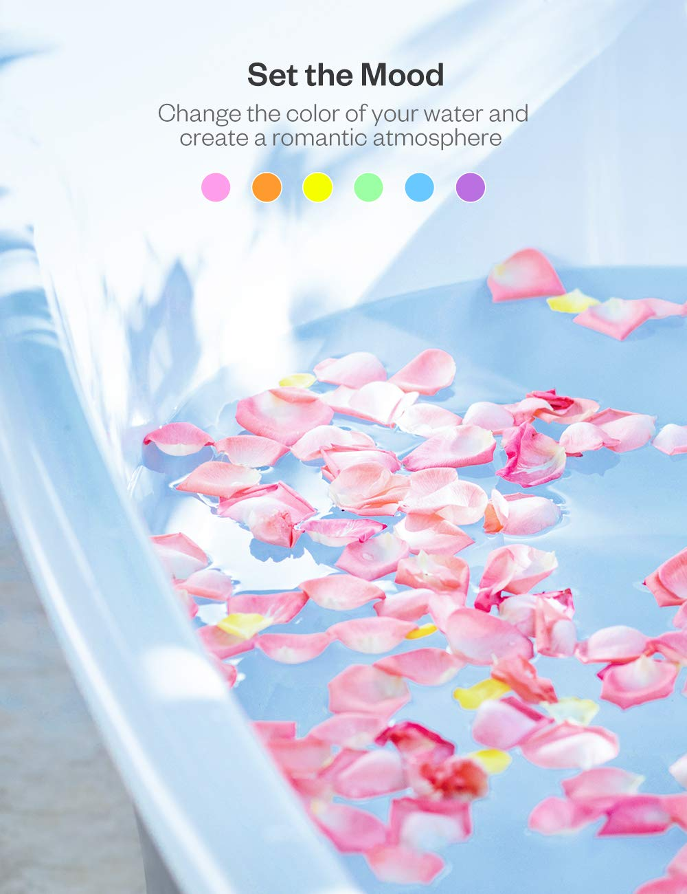 Anjou Bath Bombs Gift Set 6 x 40 oz Vegan Natural Essential Oils lush Fizzy Spa Moisturizes Dry Skin