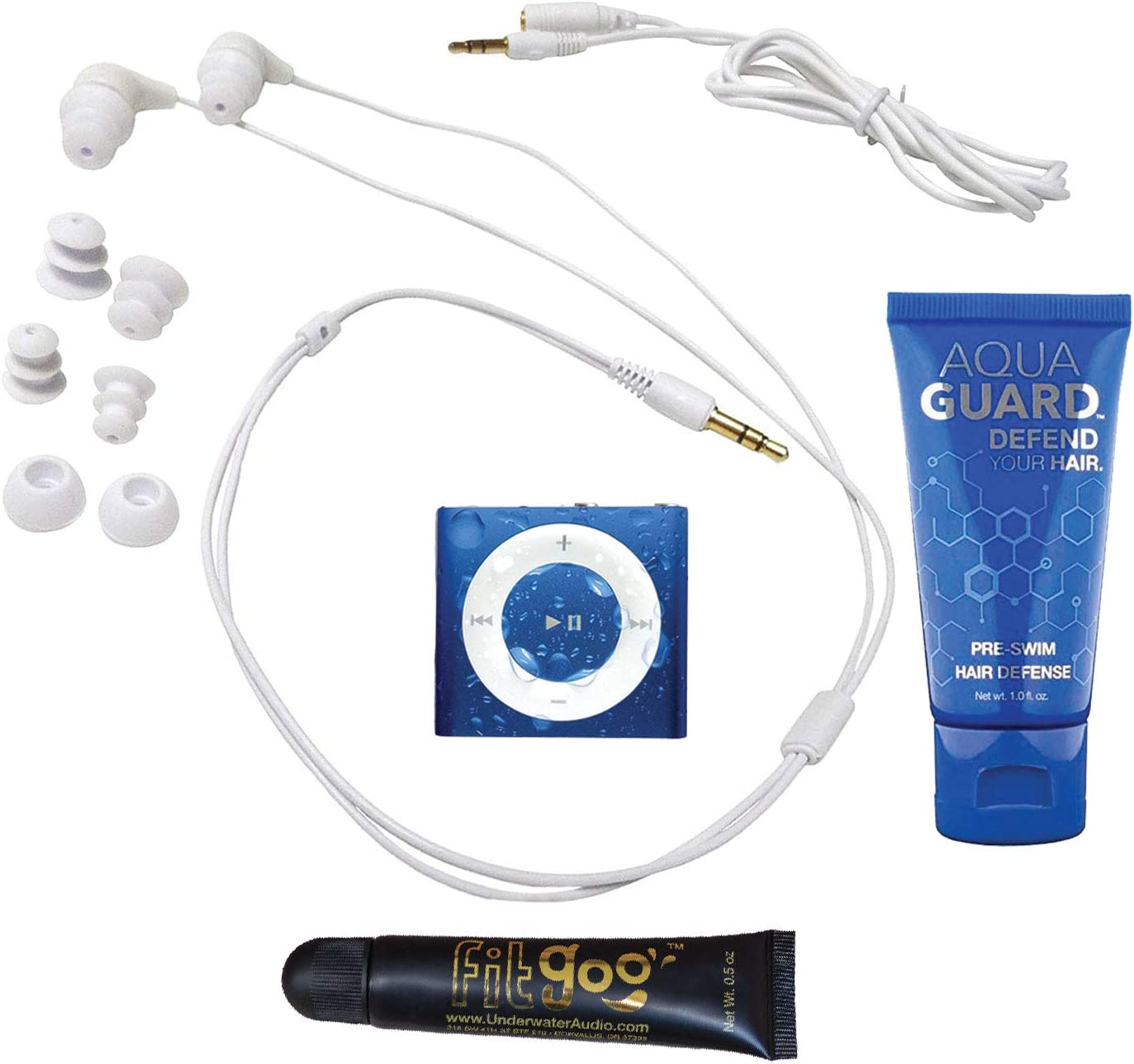 Underwater Audio/ con Auricolari da Nuoto /Lettore mp3 Shuffle Impermeabile