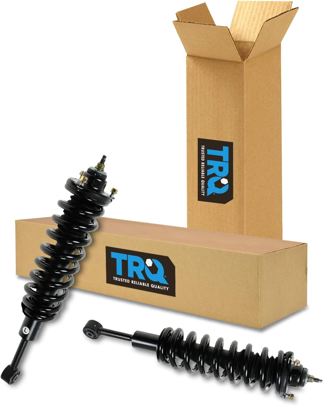 2003-2009 Toyota 4 Runner Except X-REAS Suspension System 2007-2009 Toyota FJ Cruiser DTA 70020 Full Set 2 Front Complete Struts with Springs and Mounts 2 Rear Shocks 4-pc Set