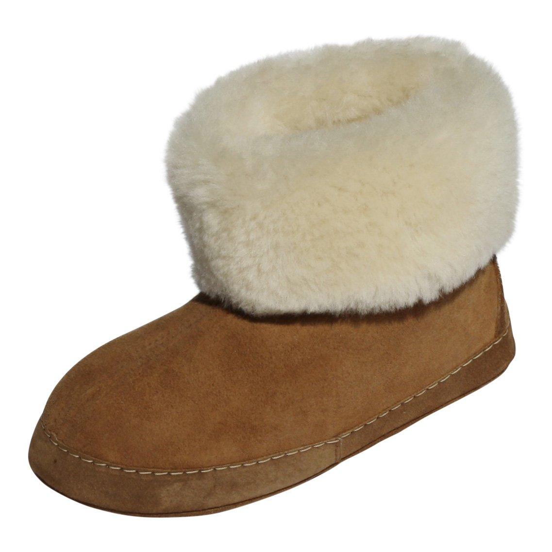 Zapatillas de estar por casa de cuero para mujer Espaniol 03 Mocasines Blancos - Marrón, 41: Amazon.es: Zapatos y complementos