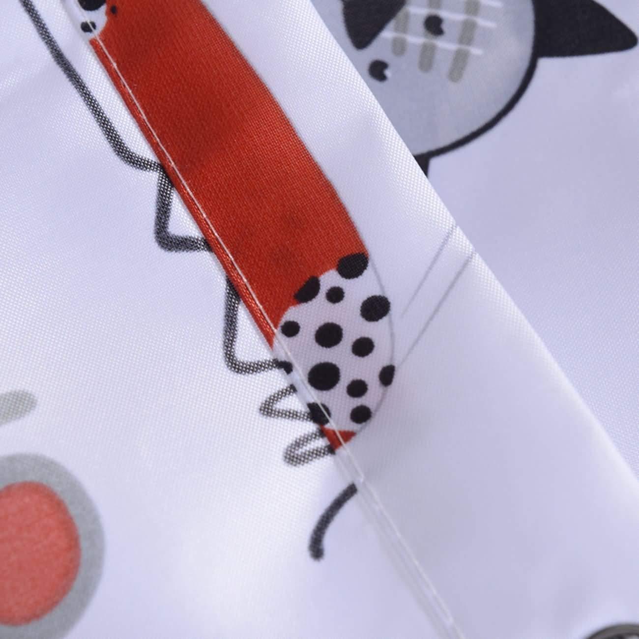 Daesar Cortina Ba/ño Antimoho Cortina Ducha 3D 80x180 Dibujos Animados Gato Cortinas Ba/ño Cortina de Ducha Vintage Cortinas de Ba/ño Poli/éster