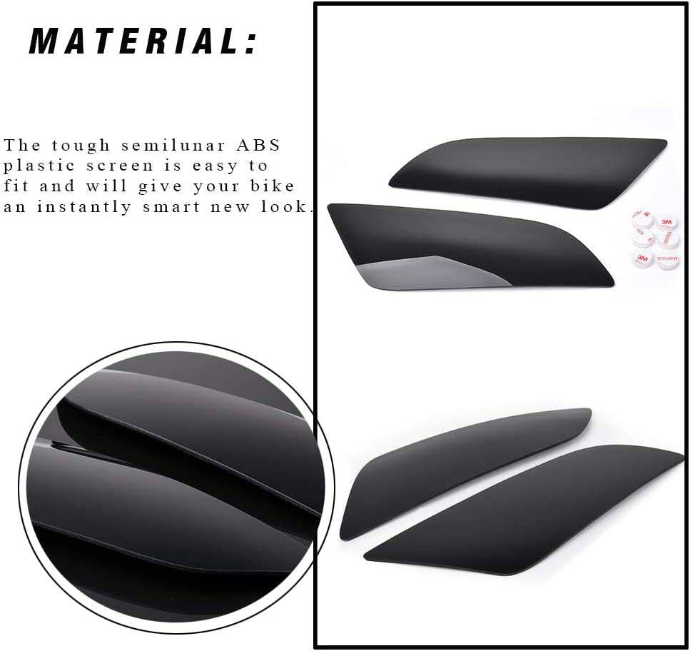 CBR1000RR 2004-2007 CBR 600RR CBR 1000RR Dark Smoke Headlamp Headlight Lens Cover Shield Protection for Honda CBR600RR 2003-2006