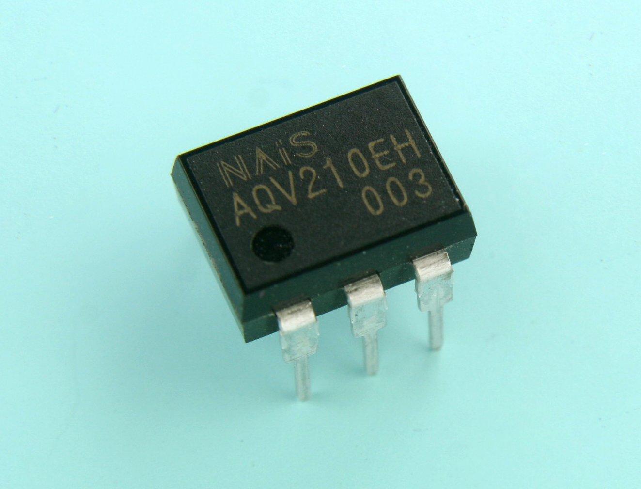 Galleon - Panasonic NAIS Mosfet Solid State Relay 130MA 350V 6PIN ...