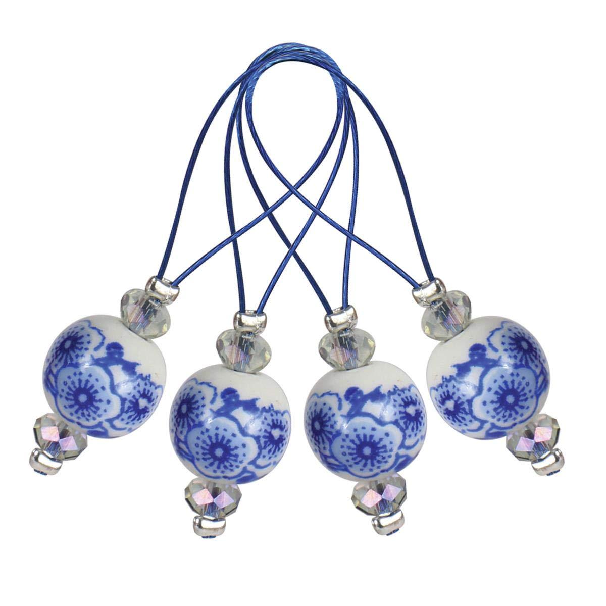 KnitPro Zooni: Bead marcapunti: Blooming blu, assortiti Knit Pro KP11256