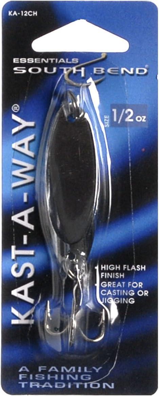 Hurricane Kast-A-Way Spoon Chrome 1//2-Ounce