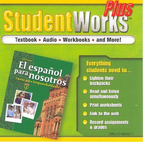 El español para nosotros: Curso para hispanohablantes Level 2, StudentWorks Plus CD-ROM (SPANISH HERITAGE SPEAKER) (Span
