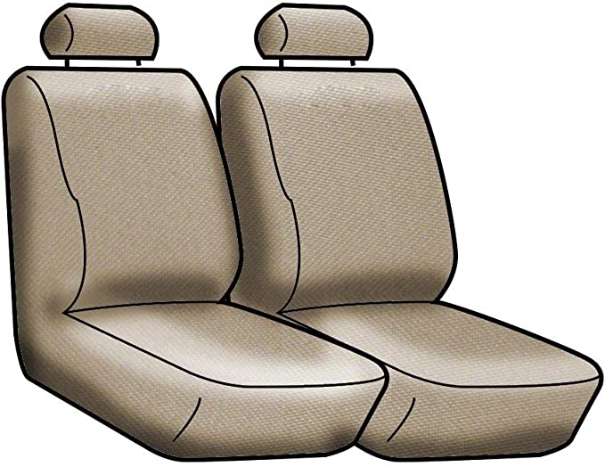 Coverking Custom Fit Front 40//20//40 Seat Cover for Select Dodge RAM Models CSC2A5DG9498 Neosupreme 2-Tone Tan with Black Sides