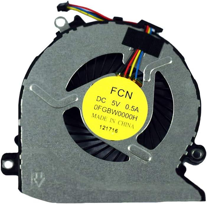 Replacement Compatible for HP Pavilion 17-G100 17-G101DX 17-G179NB 17-G053US 17-g119dx 17-g121wm 17-G037CY 17-G149CY Series Laptop 812109-001 CPU Cooling Fan