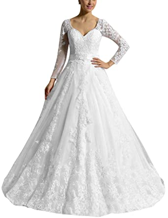 SongSurpriseMall Robes de mariée pour Fe