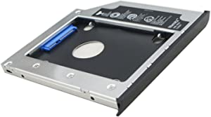 Nimitz 2nd HDD SSD Hard Drive Caddy for Hp Zbook 15 Zbook 17 with Bezel