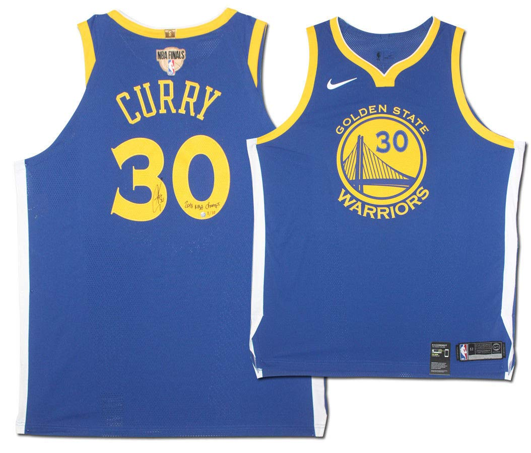 low priced fac60 fb6db Amazon.com: STEPHEN CURRY Autographed