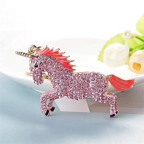 Amazon.com: GH8 Kawaii - Llavero con forma de unicornio con ...