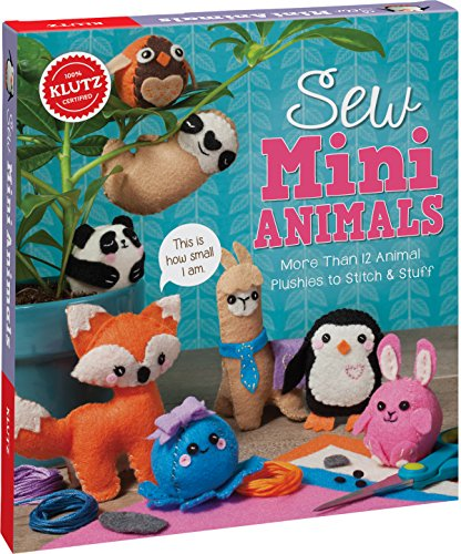 Klutz Sew Mini Animals Sewing & Craft Kit