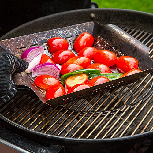 Weber Style 6434 Professional-Grade Vegetable Basket by Weber (Image #2)