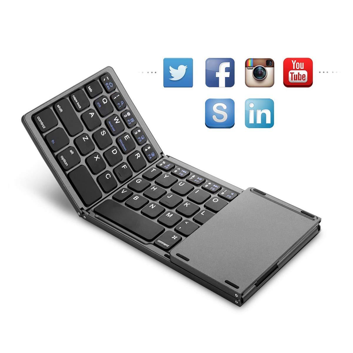 数量限定価格!! MeetJP Tri-folding Tri-folding Tablet MeetJP Universal Keyboard シェル, 保護者 キャリーケース ゴム 緩衝器 ユニークな格好 キャリーケース 保護者 スクラッチ耐性 耐衝撃性 シェル 保護 カバー B07L3S8BSR, REGALO KOBE:07cef287 --- a0267596.xsph.ru