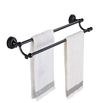 Amazon.com: Rozin Bronce aceitado baño toalla toalla bares ...