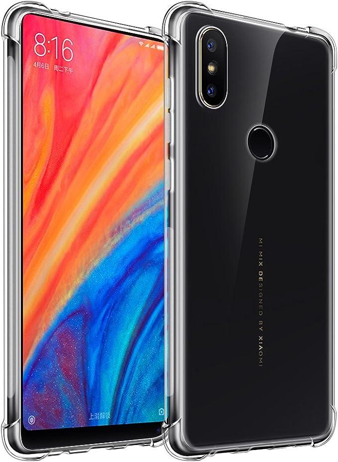 Funda Xiaomi Mi Mix 2S Qoosea Delgado Crystal Clear Transparent ...