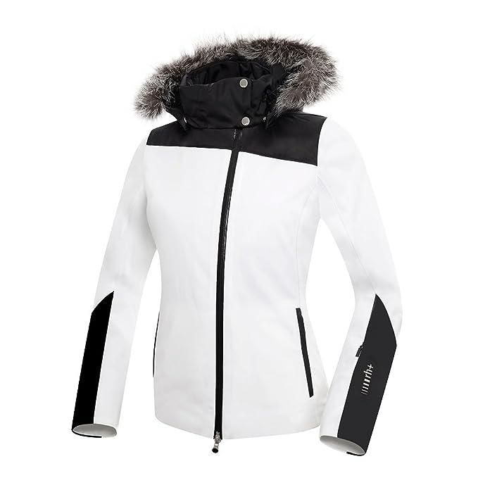 Amazon.com: RH+ Kate Jacket with Fur Womens: Clothing