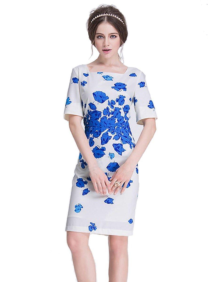 Blue Poppy Blumen-Aufdruck, von Kate Middleton, Australien, Urlaub ...