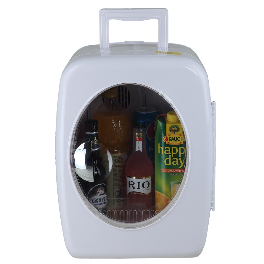Smad Thermoelectric Cooler and Warmer Travel Mini Fridge, White,15 Liters by Smad (Image #2)