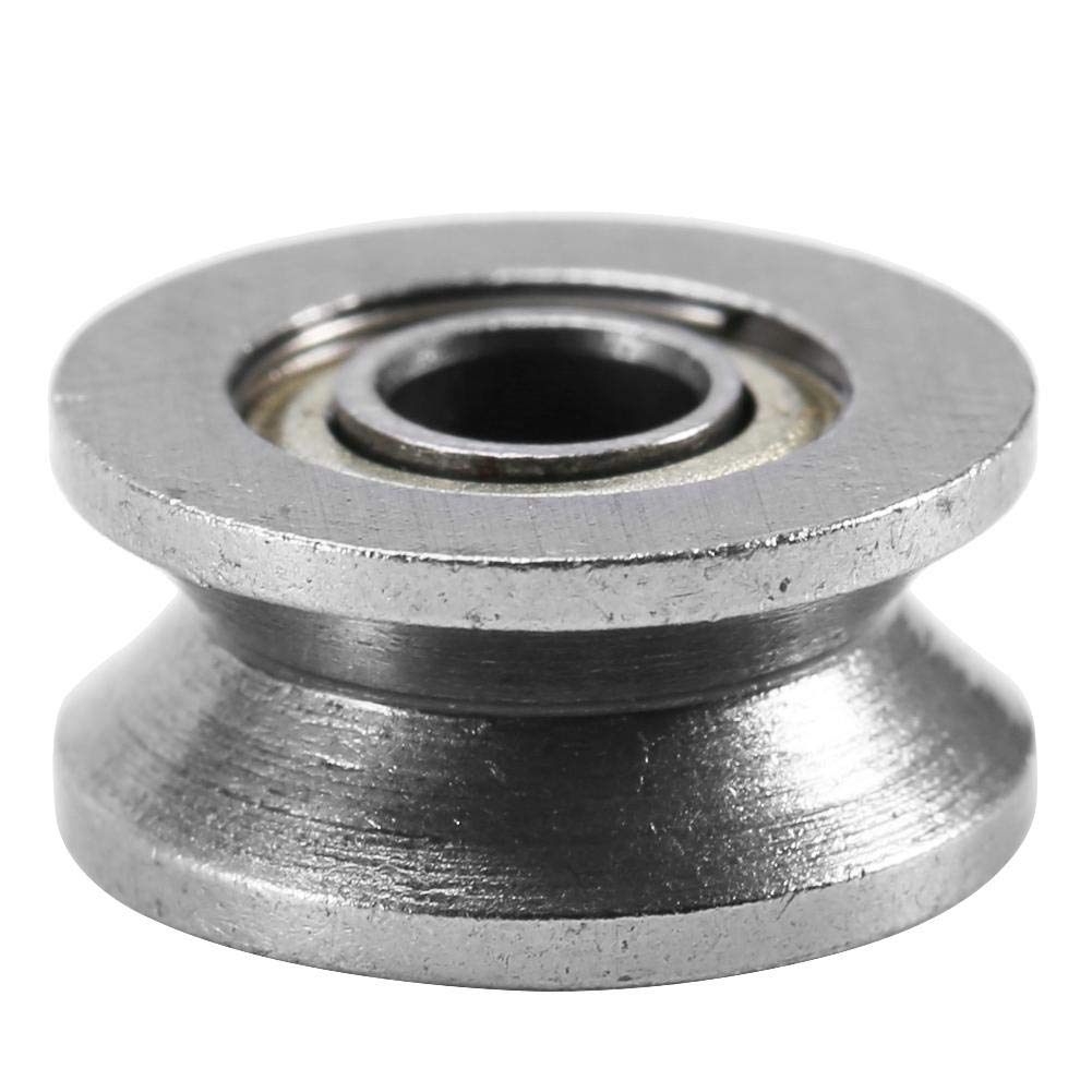 V Groove Ball Bearing Pulley for Rail Track Linear Motion System 4136mm 10pcs