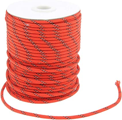 Strand Cord Hiking Knit Outdoor Camping Canopy Tent Paracord Rope 15 Color Pack