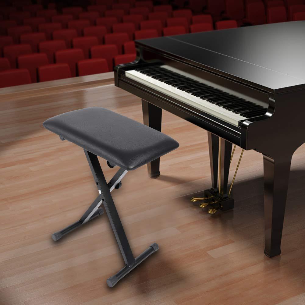 Réglable PianoSiège Pliable Dilwe Chaise En Tabouret Hauteur De jAR345Lq
