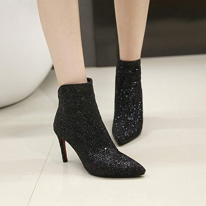 JIEEME zCP15226-11 - Botines Chelsea Mujer: Amazon.es: Zapatos y complementos
