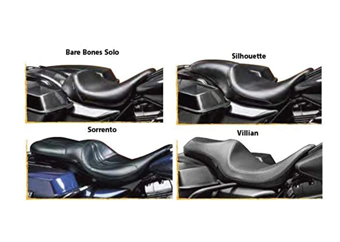 Amazon com: Le Pera Sorento 2-Up Seat for PYO/Bagger Nation